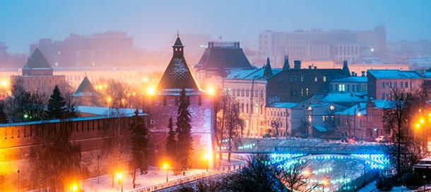 Программа празднования Нового года 2018 в Нижнем Новгороде