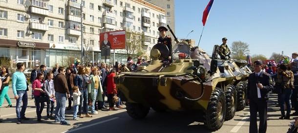 празднование 9 мая 2017 в ульяновске она