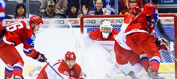 Хоккей россия дания сегодня во сколько