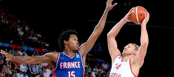 прогноз матча по баскетболу Россия - Франция