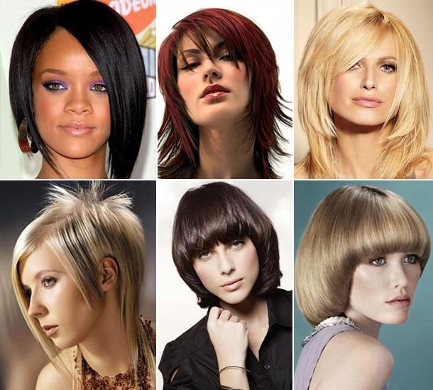 Названия женских причёсок