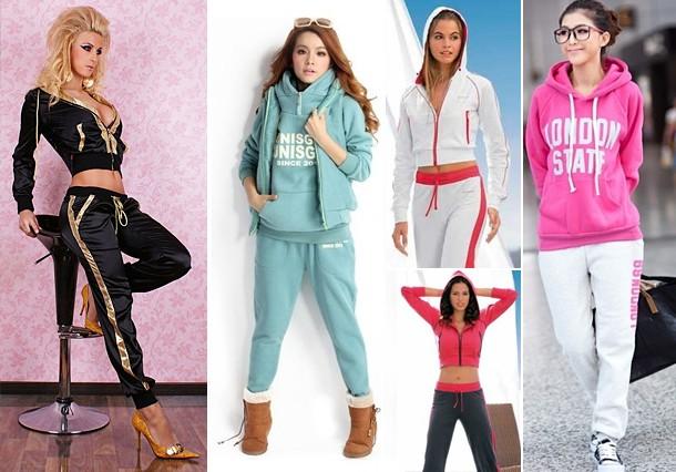 Стильные спортивные костюмы женские