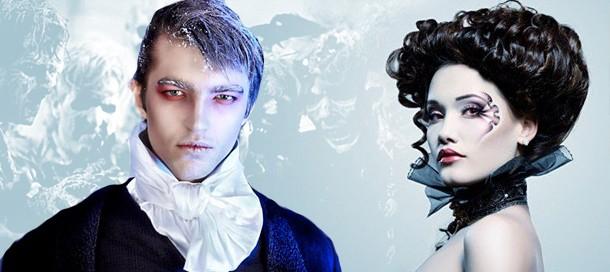 Как сделать макияж и раскрасить лицо на Хэллоуин
