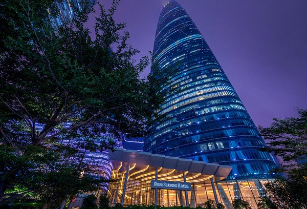 Отель Four Seasons Guangzhou